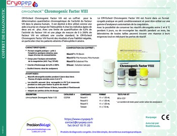 Cryocheck Chromogenic Factor VIII