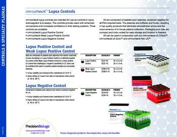 Cryocheck™ Lupus Negative Control
