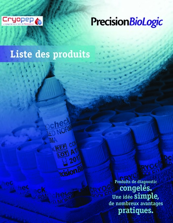 Catalogue Produits Precision Biologic