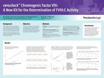 2020 Chromogenic Factor VIII THSNA New kit